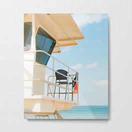 Prints for a Purpose: Lifeguard Tower Metal Print