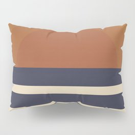 Retro Sunset Pillow Sham