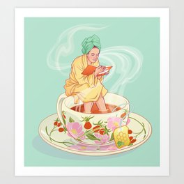 Cure for the common cold Art Print