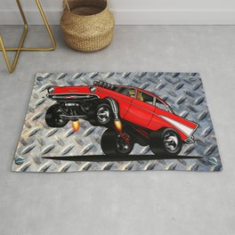 1957 Classic Chevy Gasser Rug
