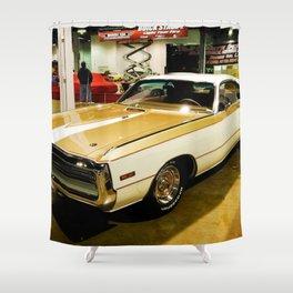1970 Hurst MOPAR 300 Classic Muscle Car Shower Curtain