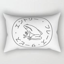 Frog Society Rectangular Pillow