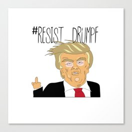 #Resist Drumpf Canvas Print