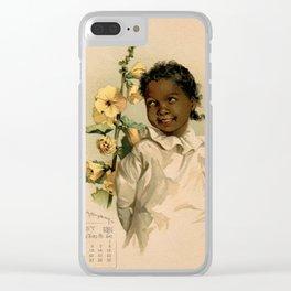 African Girl Maud Humphrey Clear iPhone Case