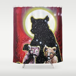 Next Genration Medicine People: Nursing Ursa Minor Shower Curtain