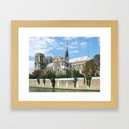 Cathedral of Notre Dame Framed Art Print