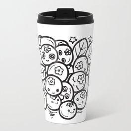 Team Blueberries Travel Mug