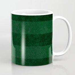 Emerald Stripes Coffee Mug