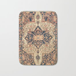 Ferahan  Antique West Persian Rug Print Bath Mat