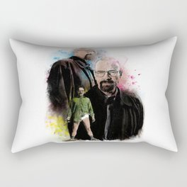 The one who knocks inspired by Breaking Bad Rectangular Pillow