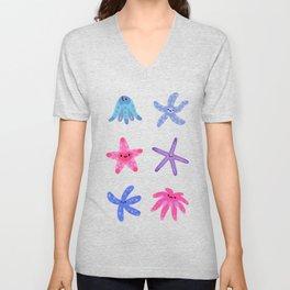 Starfish Unisex V-Neck