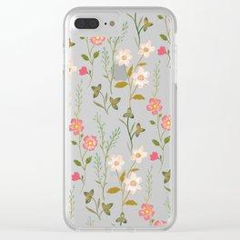 Botanical Study Clear iPhone Case