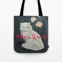 starwars Tote Bags featuring Wilco - StarWars by NICEALB