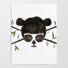 Pirate Panda Poster