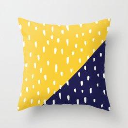 print #9 Throw Pillow