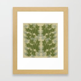 Kentia Framed Art Print