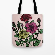 delicate roses Tote Bag
