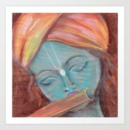 Lord Krishna Art Prints | Society6