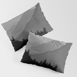 Above the tree line Pillow Sham