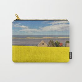 Bright Canola Carry-All Pouch