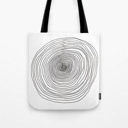 Concentric Circles Tote Bag
