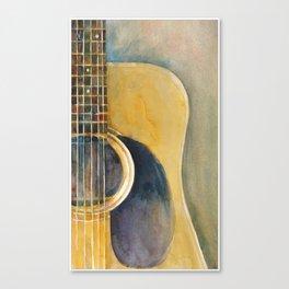 Martin Accoustic Guitar Canvas Print