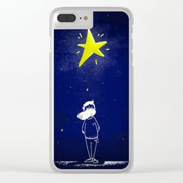 The man of dreams Clear iPhone Case