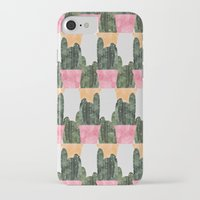 cactus iPhone & iPod Cases featuring cactus by Grace