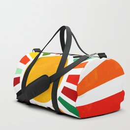 Sun Retro Art Duffle Bag
