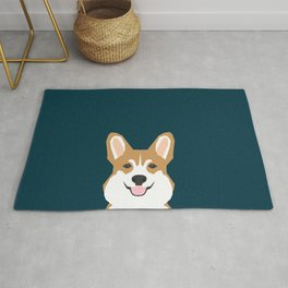 Teagan - Corgi Welsh Corgi gift phone case design for pet lovers and dog people Rug