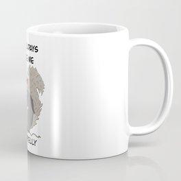 The holidays make me squirrelly Coffee Mug