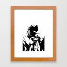 Pressure Point Framed Art Print
