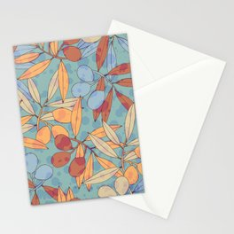 Olives texture 54 Stationery Cards