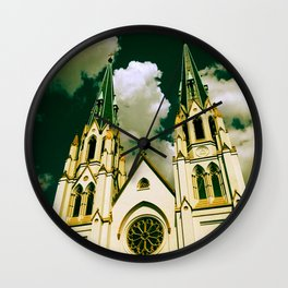 Cathedral of St. John the Baptist Wall Clock