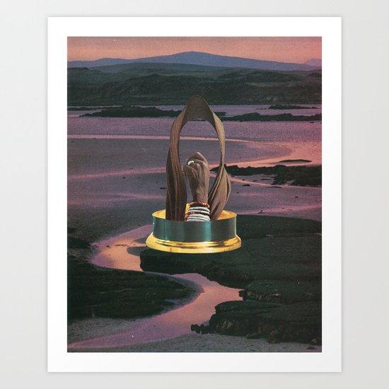 Statuette Art Print