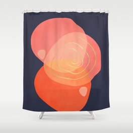 Modern minimal forms 34 Shower Curtain