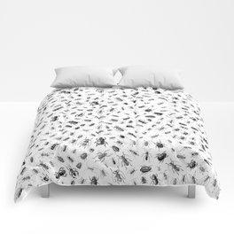 Beetlemania II B&W Comforters