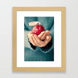 Al I want for Christmas... Framed Art Print