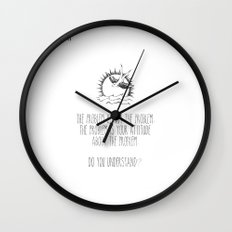 Do You Understand? Wall Clock