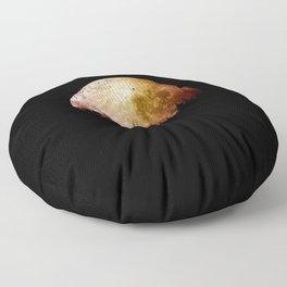 luna de sangre Floor Pillow