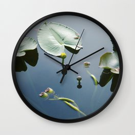 floating world 2 Wall Clock