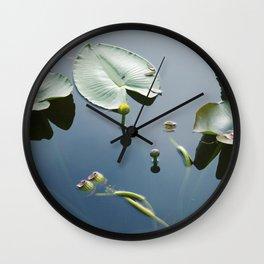floating world 2 Wall Clock