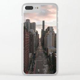 2nd Avenue Clear iPhone Case