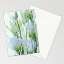 Painterly Lisianthus Stationery Cards