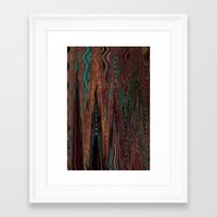 illusion Framed Art Prints featuring Illusion by Marianna Shomero