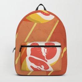 Summer fruits Art Print Backpack