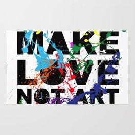 make love not art Rug