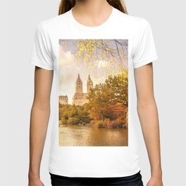 New York City Autumn Landscape T-shirt
