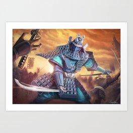 Virtuous Victory Art Print