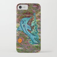 dolphin iPhone & iPod Cases featuring Dolphin by gretzky
